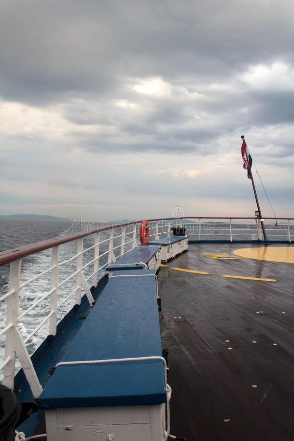 Download Ship deck stock image. Image of nautical, natural, storm - 25937809