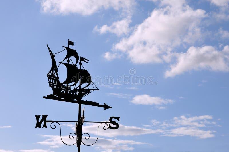 Download Ship Design Weather Vane stock image. Image of forecast - 15338243