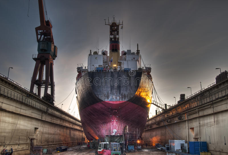 Download Ship in dock stock image. Image of delivery, marine, scandinavia - 13526221