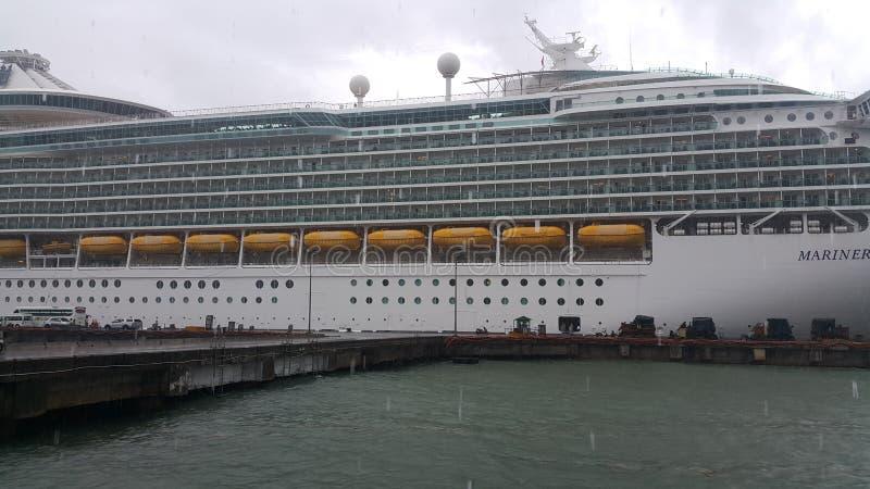 Ship Docked royalty free stock photos