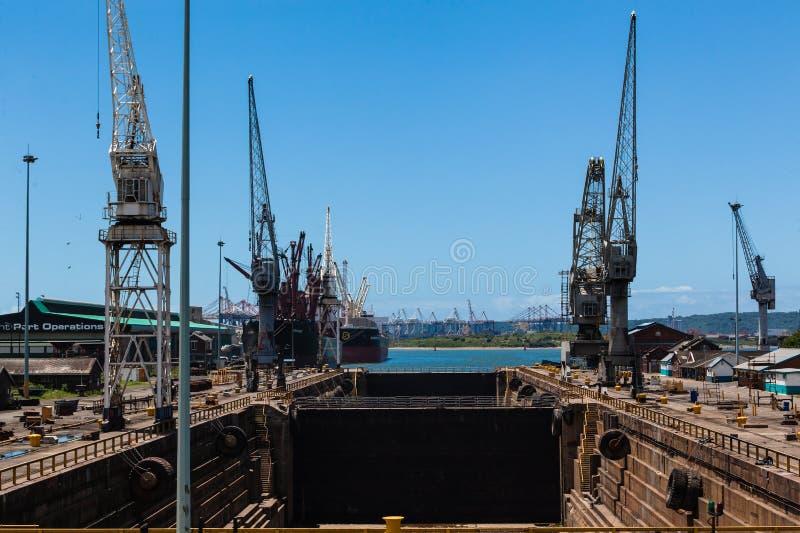 Ship Dry Docks Harbor stock images