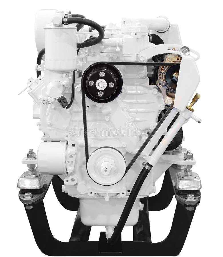 Ship engine royalty free stock image
