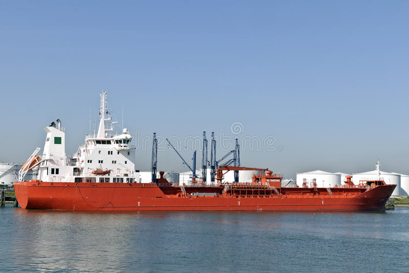 ship för gashamnolja fotografering för bildbyråer