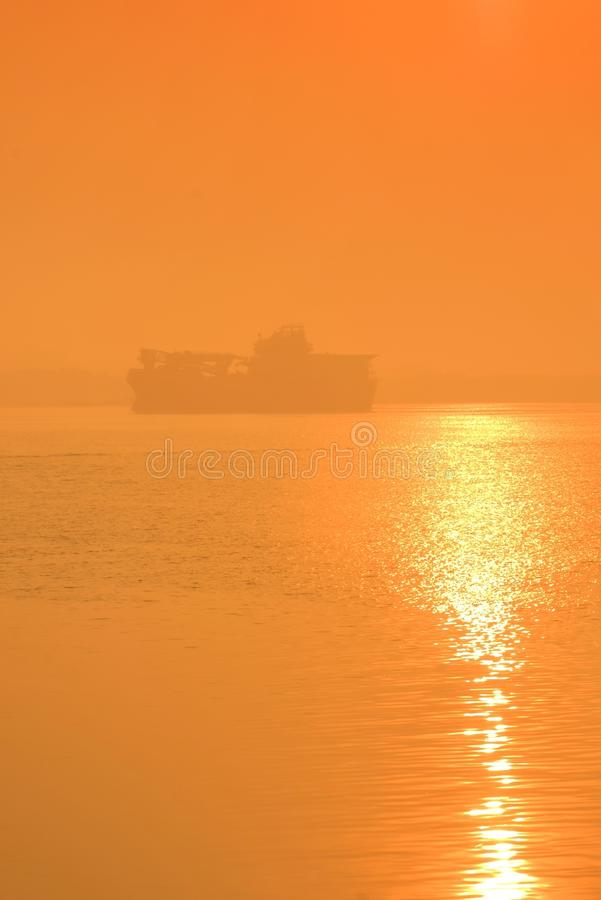 Ship Lost in Fog