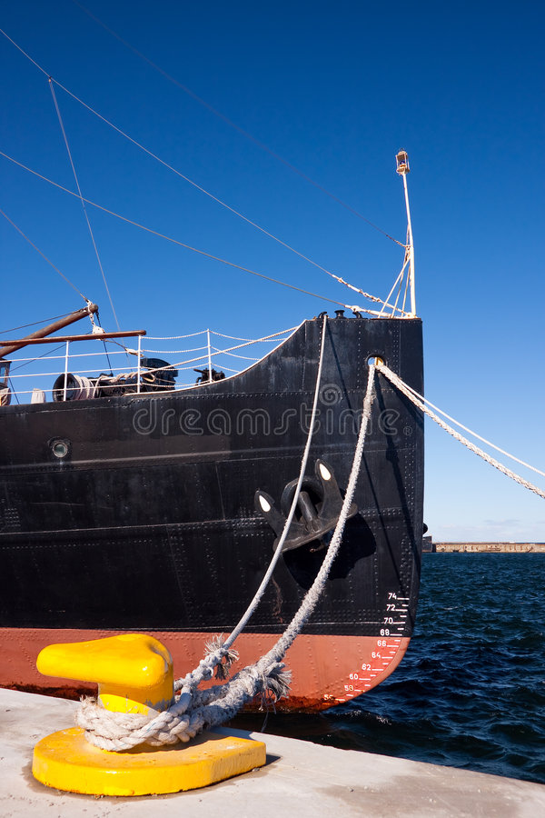 Ship fore royalty free stock photo