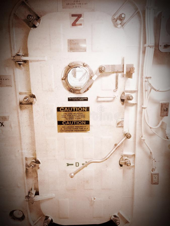 Ship hatch royalty free stock images
