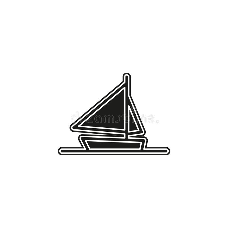 ship icon, cruise ship - vector boat illustration, sea travel symbol vector illustration