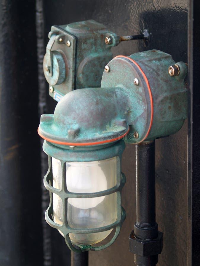 Ship Lantern Royalty Free Stock Photography