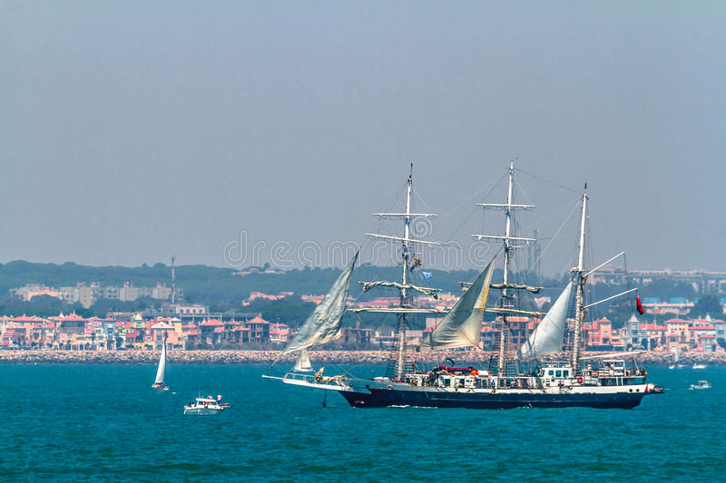 Download Ship Lord Nelson editorial stock photo. Image of nautical - 26486433
