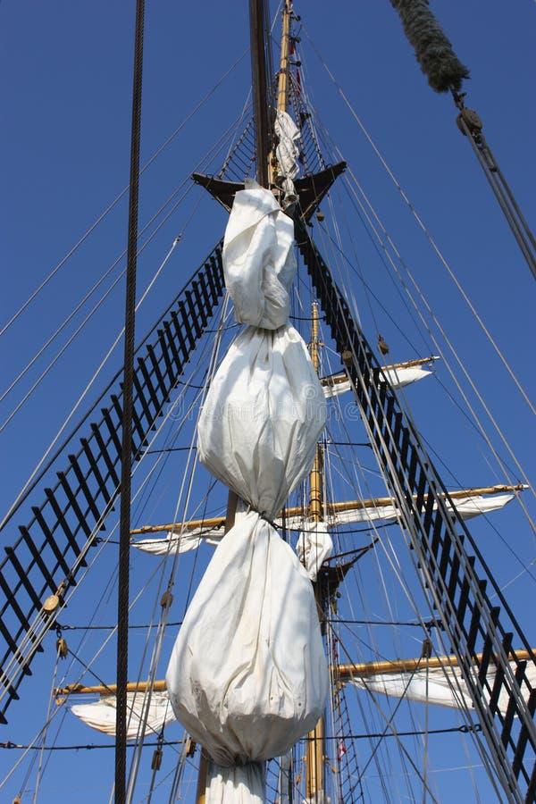Ship mast royalty free stock photos