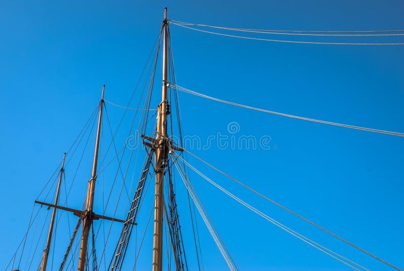 Download Ship Mast stock photo. Image of rope, nautical, wood - 40015064