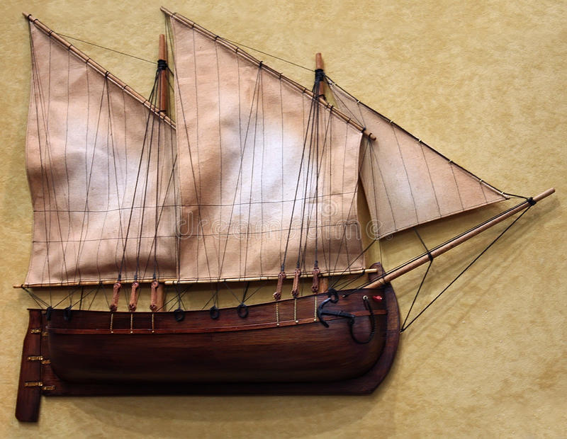 Ship model stock photography