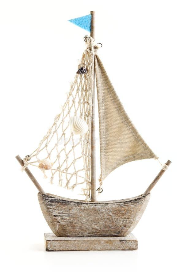 Ship model stock image