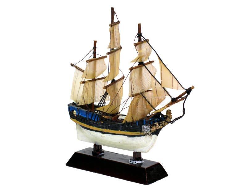 Ship model isolated stock photos