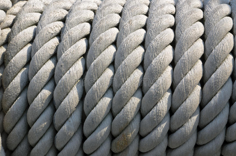 Download Ship ropes sack stock image. Image of boat, loop, fixed - 30619715