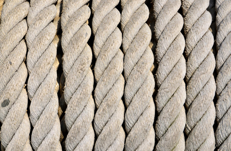 Download Ship ropes sack stock image. Image of rope, boat, lasso - 30619743