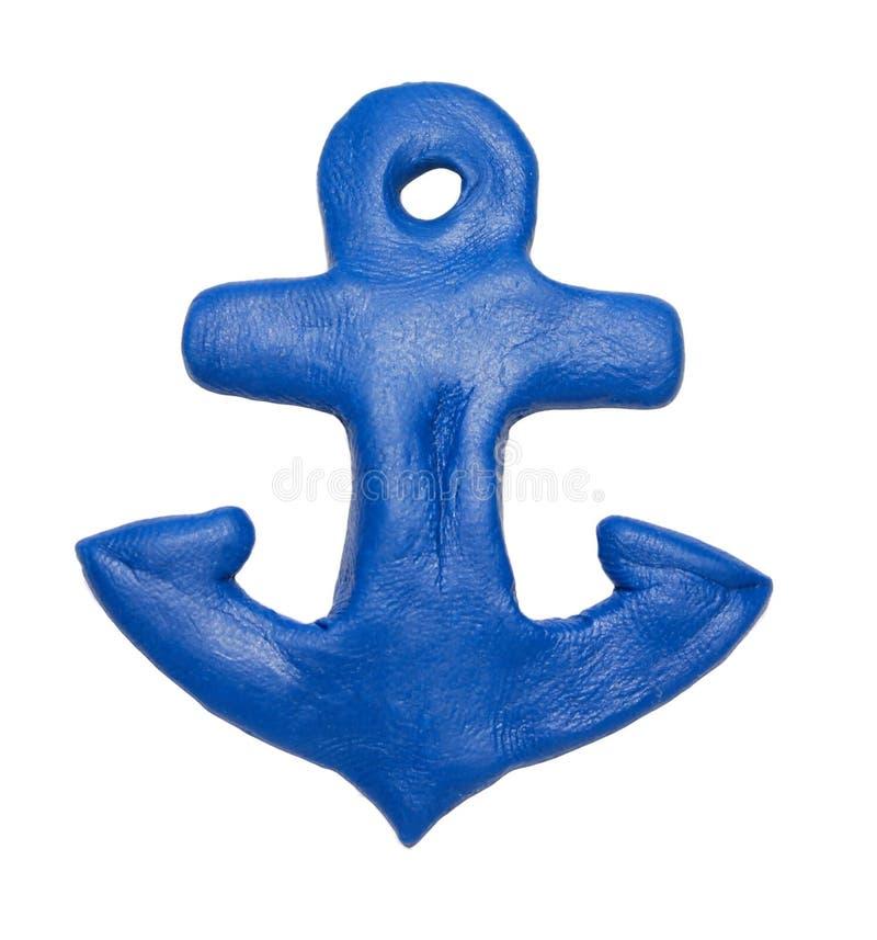 Ship's anchor stock image