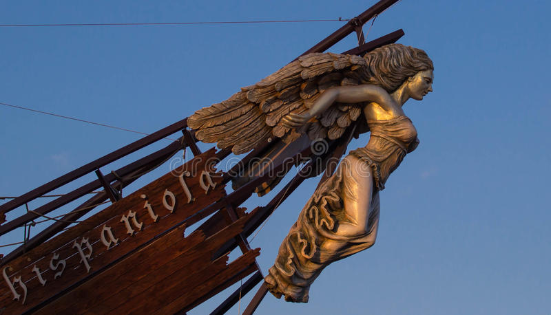 Ship's Figurehead stock image. Image of superstition - 51546529