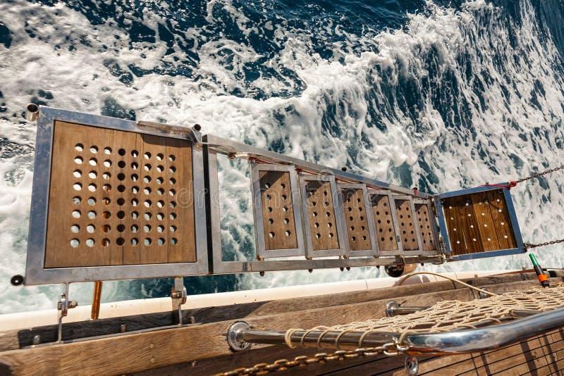 Ship gangway royalty free stock photos
