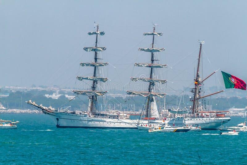 Download Ship Sagres editorial stock image. Image of ship, mast - 26486429