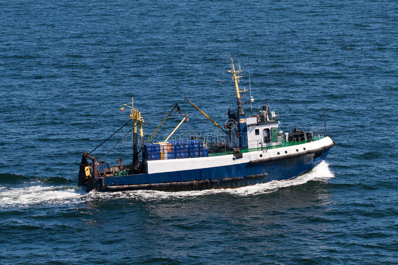 Download Ship in the sea stock image. Image of fishery, boat, vessel - 27394787