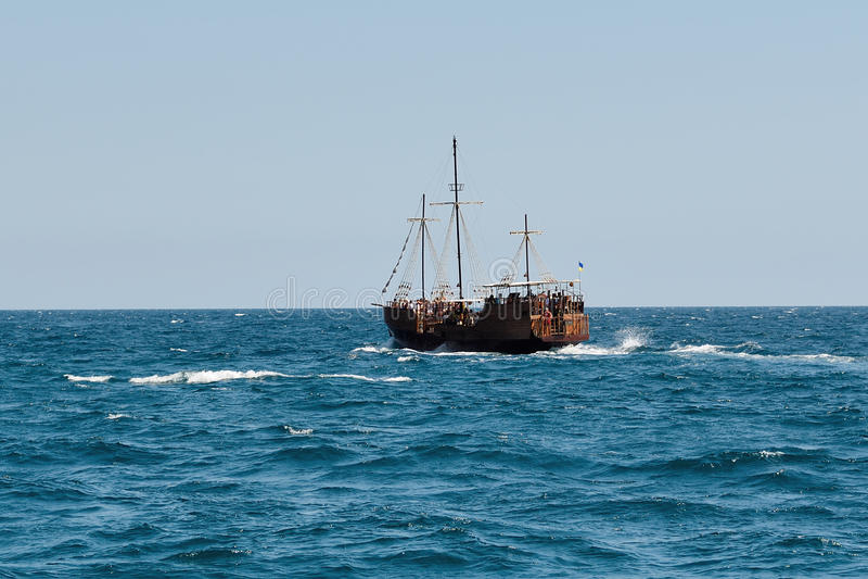 Download A Ship At Sea Stock Photo - Image: 36682970