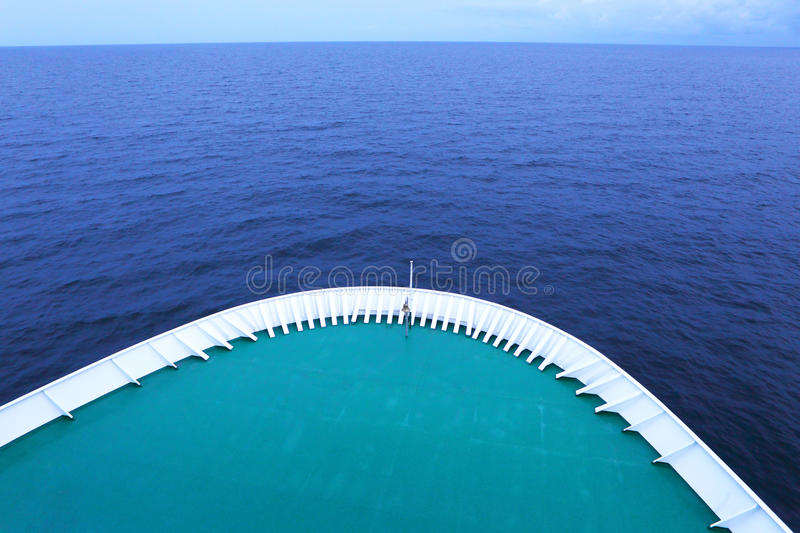 The Ship In The Sea Royalty Free Stock Image