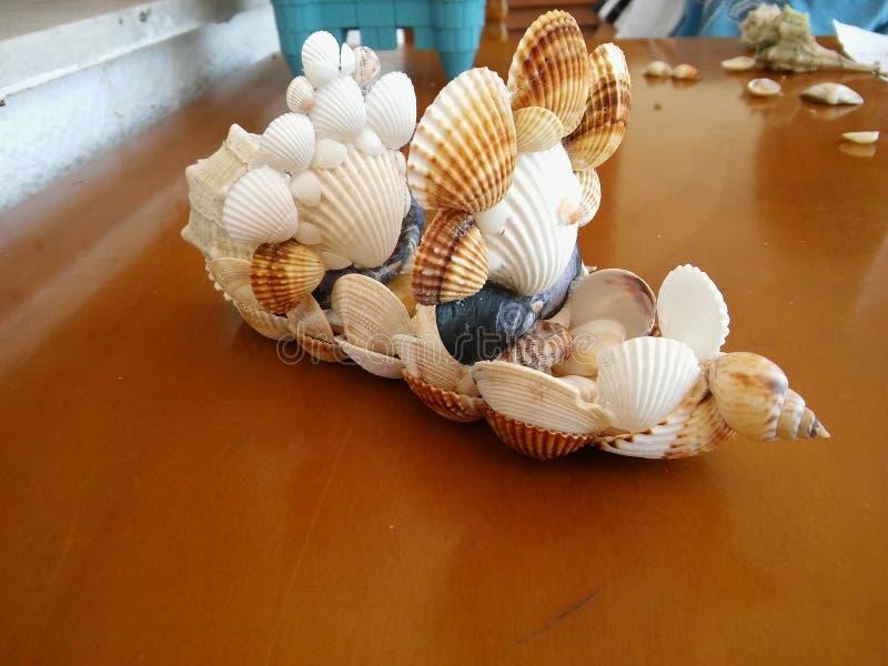 Ship shell stock image