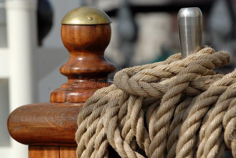 Ship tackles royalty free stock photos