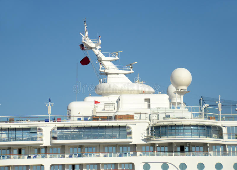 Download Ship top tower stock photo. Image of tower, view, ocean - 26939728