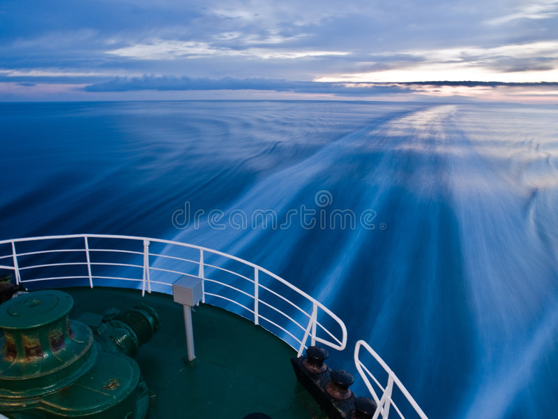 Download Ship Trail Stock Photo - Image: 5597260