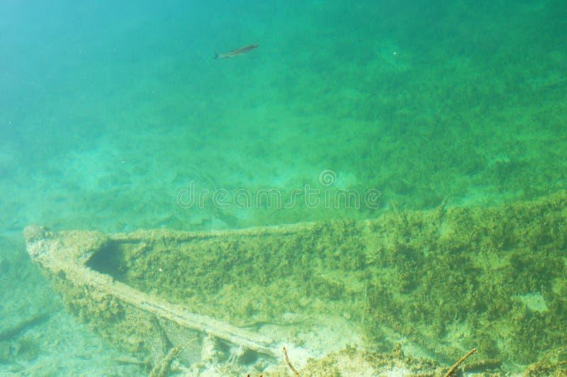 The Ship Underwater Stock Photos