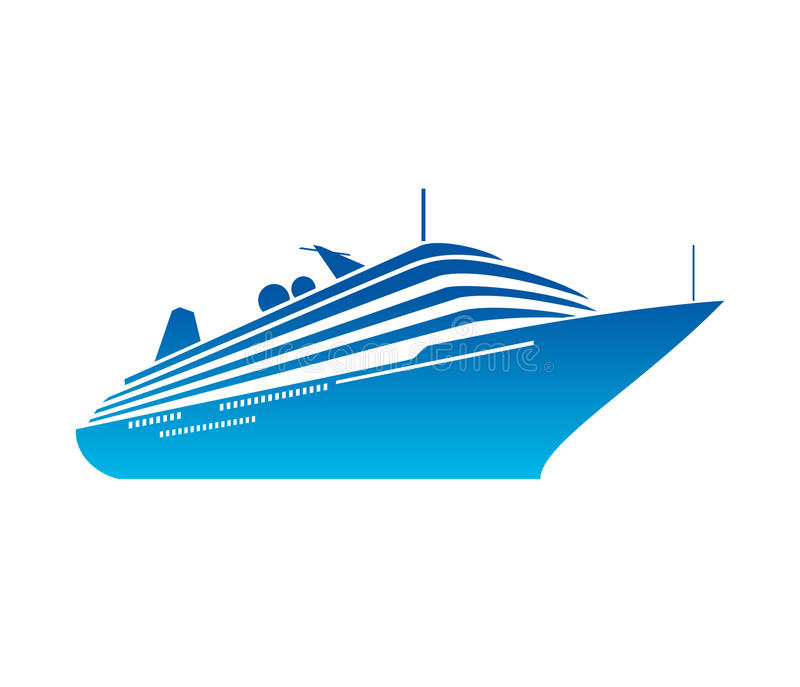 ship vector stock vector illustration of modern ocean 43168269 rh dreamstime com ship vector art ship victoria
