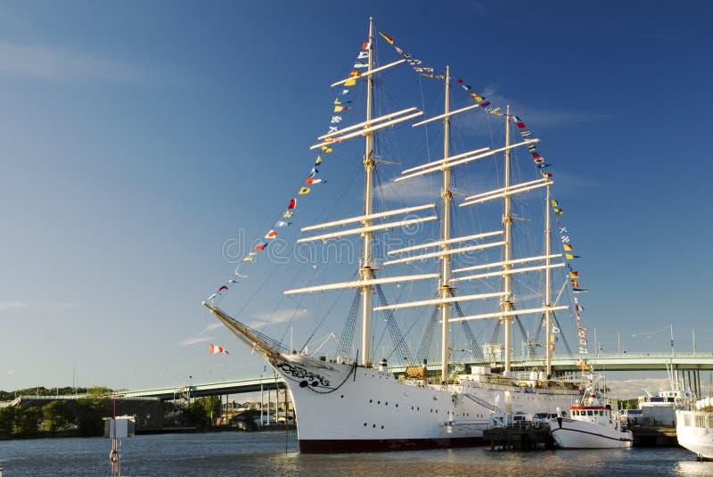 Ship Viking in Gothenburg stock images