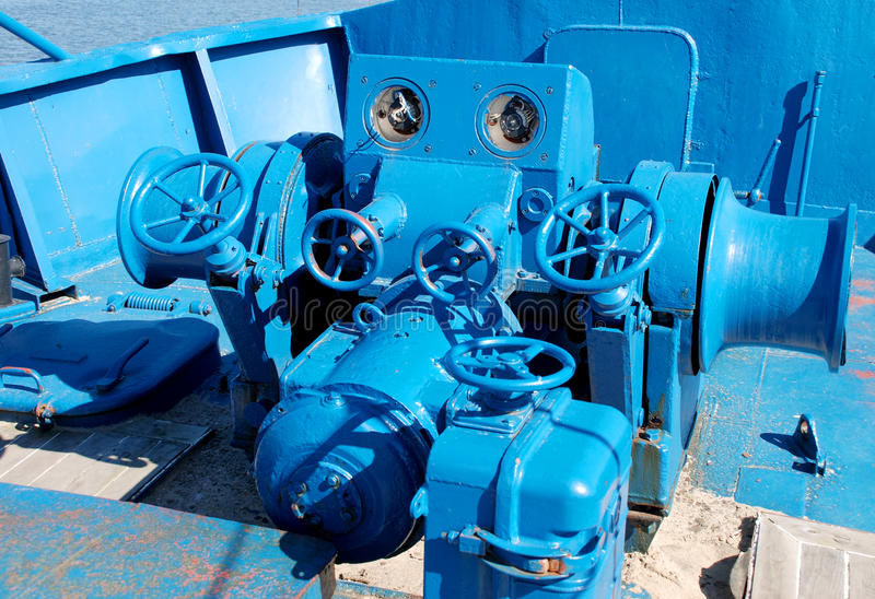 Download Ship winch stock photo. Image of industry, part, up, metal - 27757626