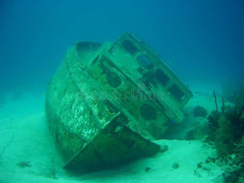 Download SHIP WRECK stock image. Image of scuba, vessel, sunk, boat - 2045949