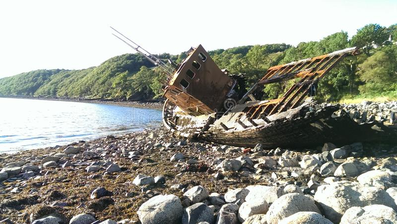Download Ship Wreck stock photo. Image of taken, rose, sunny, bright - 85688484