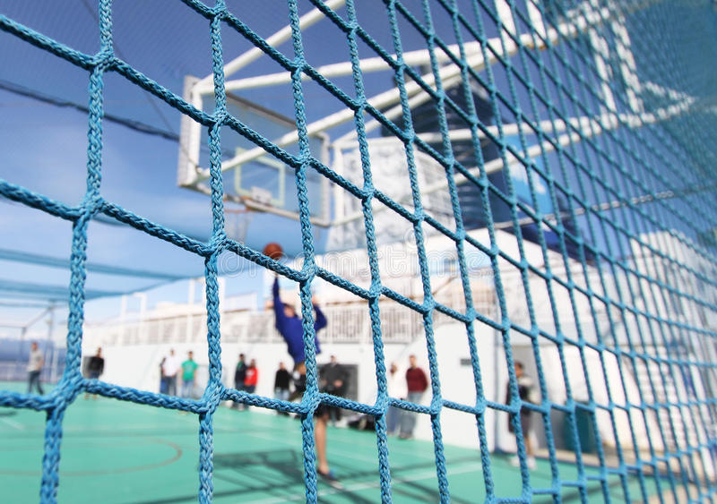 Shipboard Sports & Recreation stock images