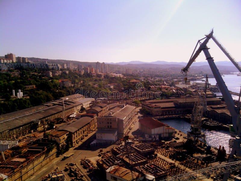 shipbuilding immagine stock
