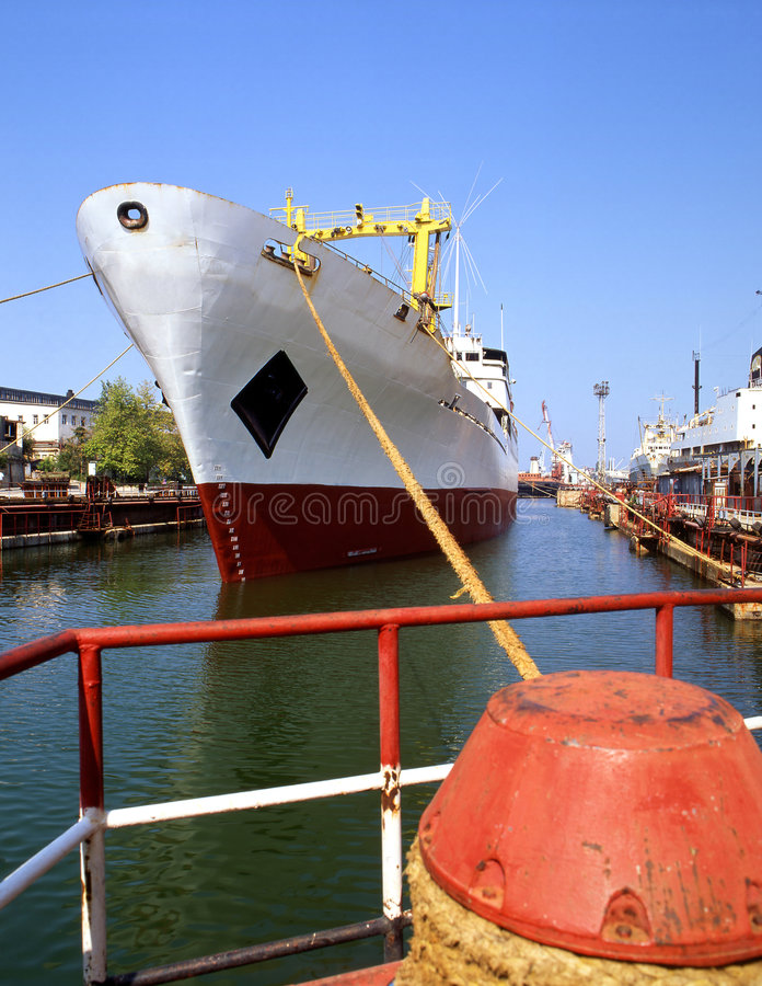 Shipbuilding, ship repair stock images