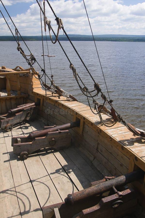 shipcannons obrazy stock