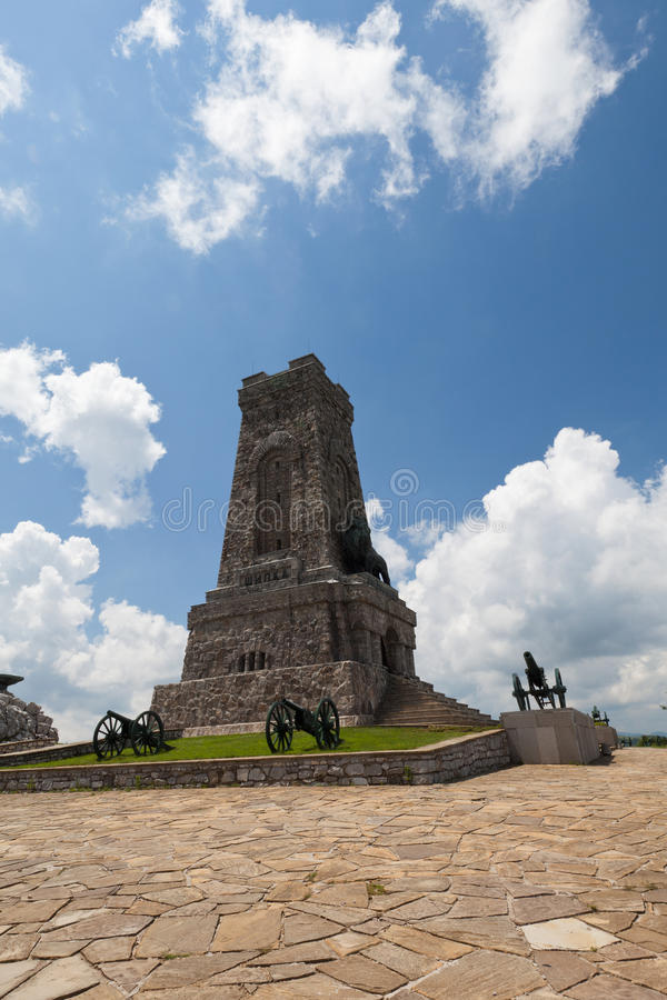Shipka Denkmal lizenzfreie stockfotos