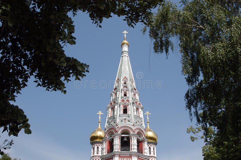 Shipka Kirche lizenzfreies stockfoto
