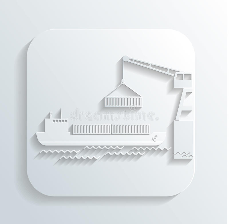 Download Shipment icon vector stock vector. Image of facility - 32827807