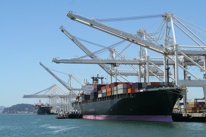 Shipping stock image