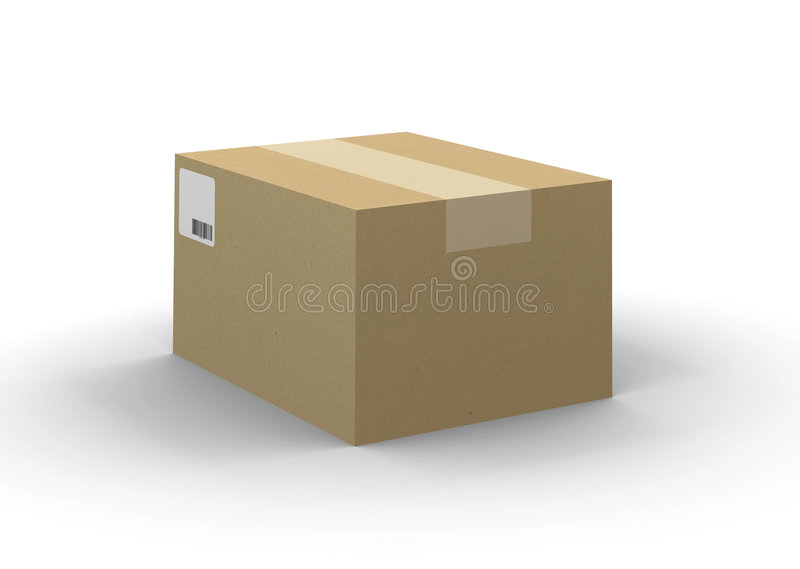 Download Shipping Box stock illustration. Image of order, fragile - 8063650