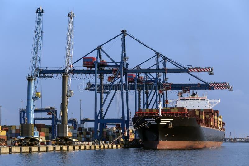 Shipping - Cargo - Container Ship stock photos