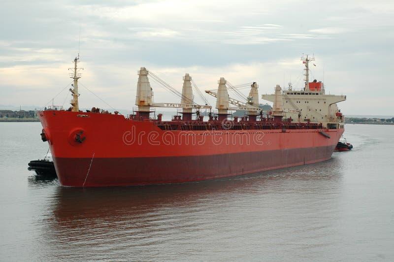 Shipping Coal royalty free stock photo