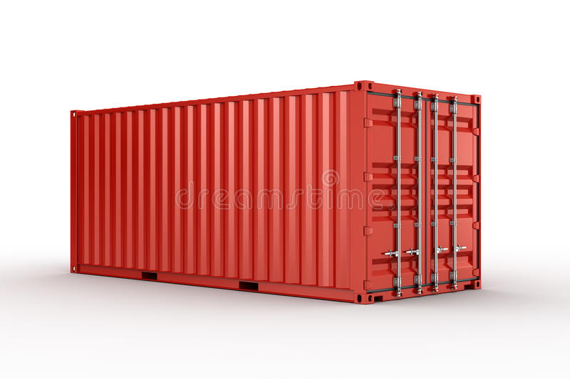 Download Shipping container stock illustration. Image of freight - 21512337