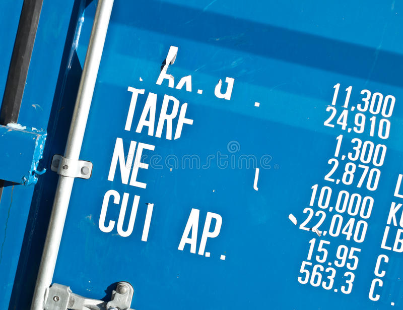 Download Shipping container stock photo. Image of metal, freight - 23212846